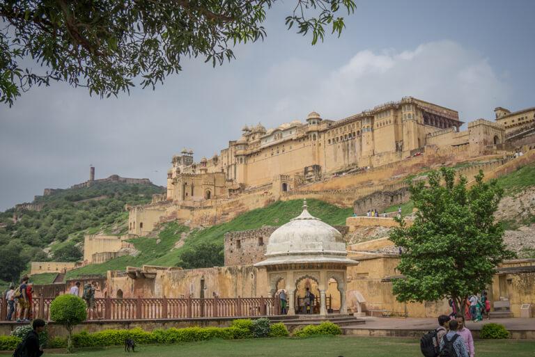 Indien Sehenswuerdigkeiten Rajasthan Jaipur Amber Fort