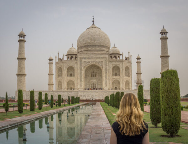 Indien Sehenswuerdigkeiten Taj Mahal Agra