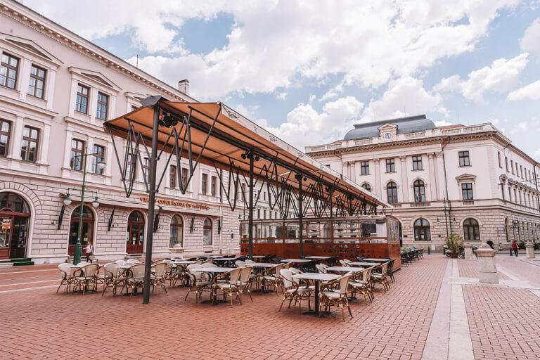 Innenstadt Strassenbahn Bar Cafe Restaurant