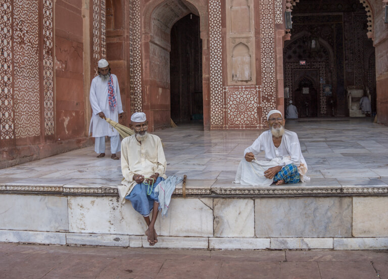Jama Masjid Moschee Delhi