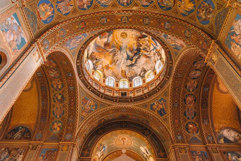 Kathedrale von Szeged Deckenbemalung
