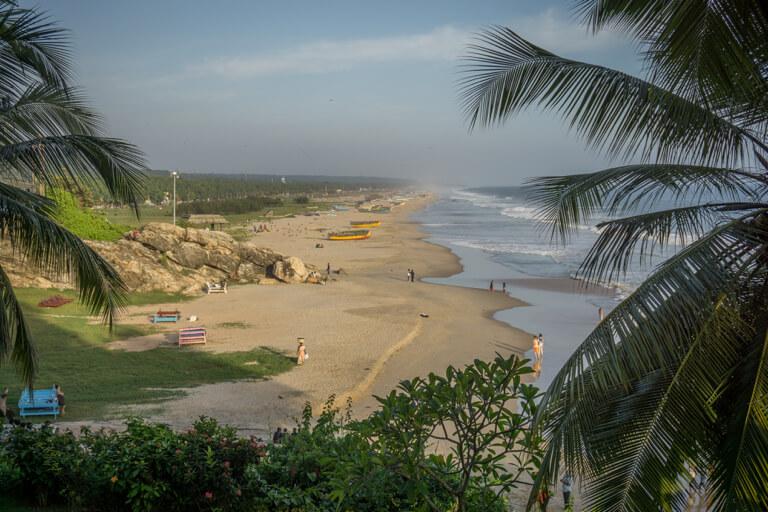 Kerala Strand Suedindien Ayurveda