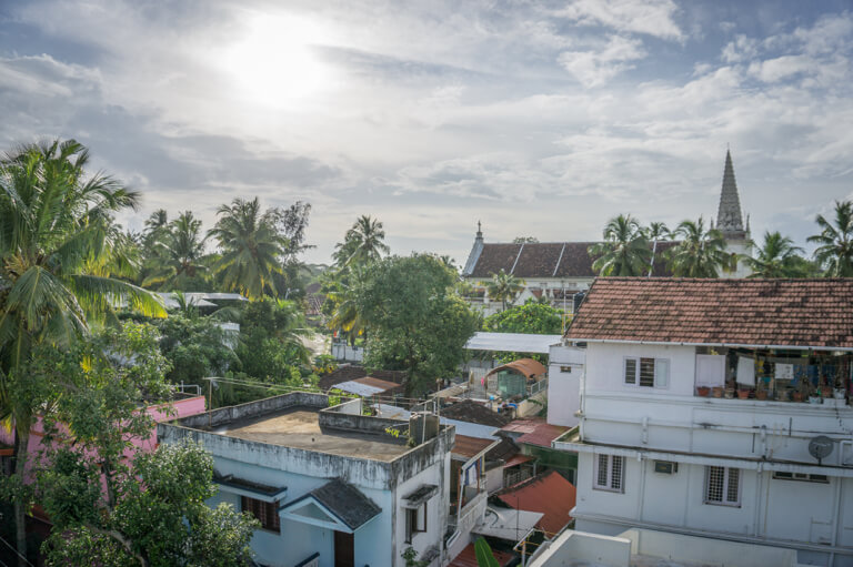 Kochi Indien Sueden Kerala