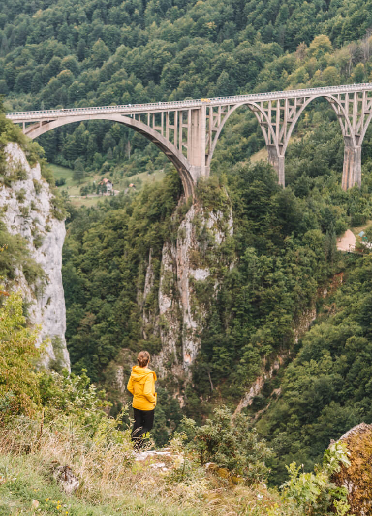 Montenegro Sehenswuerdigkeiten Durdevica Tara Bruecke