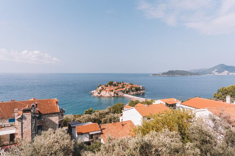 Montenegro Sehenswuerdigkeiten Sveti Stefan