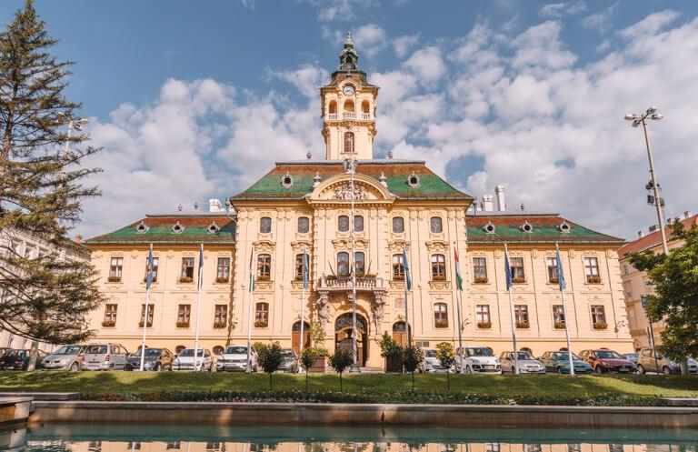 Rathaus Szeged Ungarn