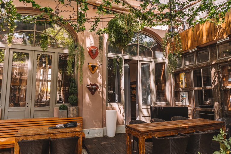 Szeged Restaurant Hagi Udvar