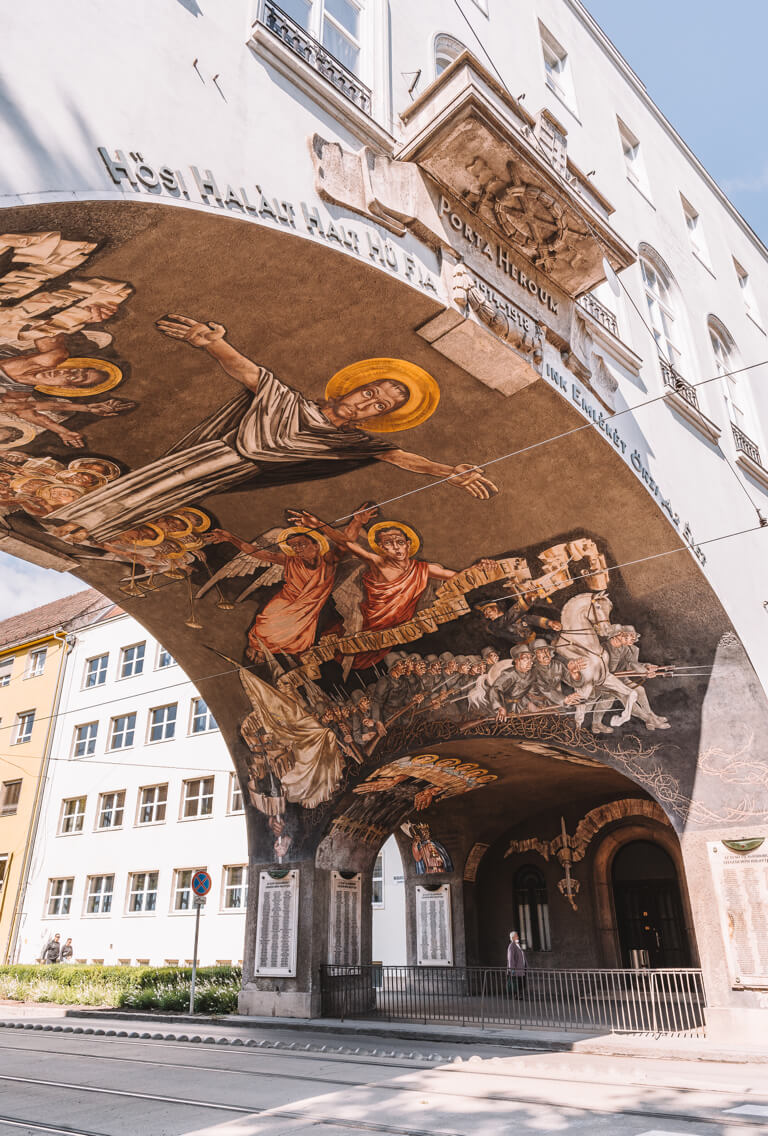 Szeged Ungarn Heldentor Heroes Gate