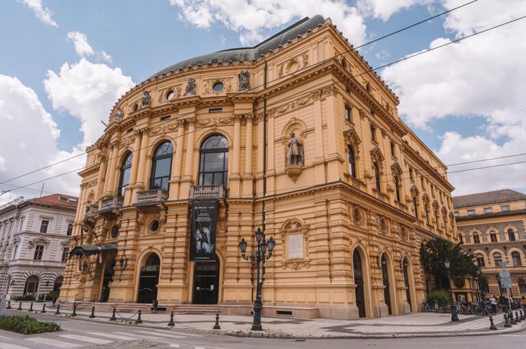 Szeged Ungarn Nationaltheater