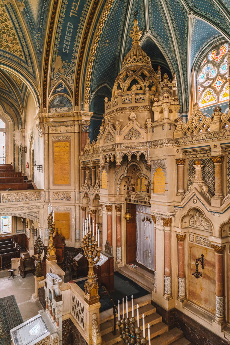 Szeged Ungarn Neue Synagoge Altar