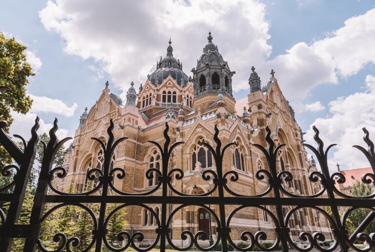 Szeged Ungarn Neue Synagoge Fassade