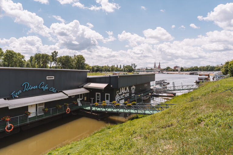 Theiss Tisza River Cafe Club