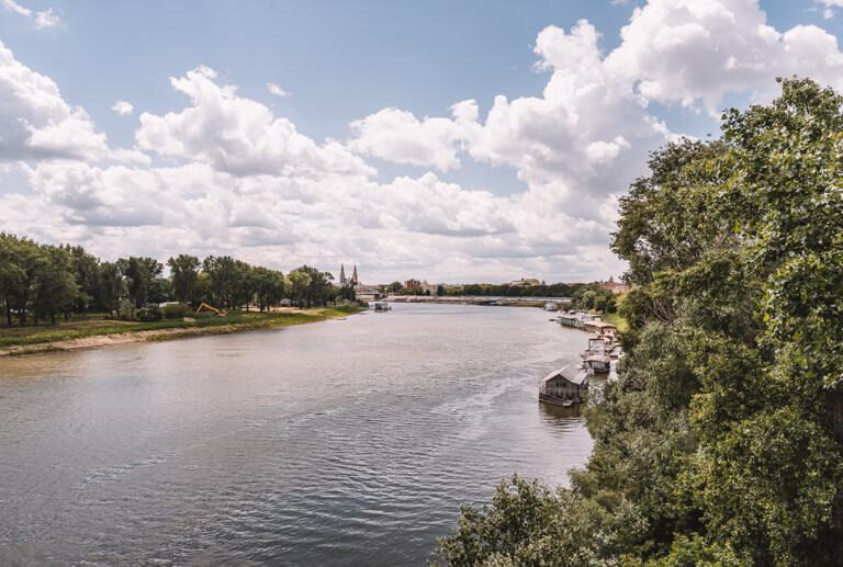 Theiss Tisza Szeged Ungarn