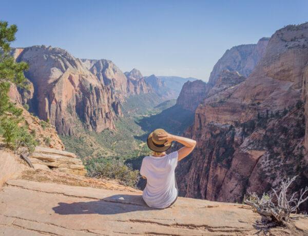 Angels Landing Zion Nationalpark Wanderung