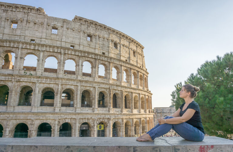 Italien Sehenswuerdigkeiten Colloseum Rom