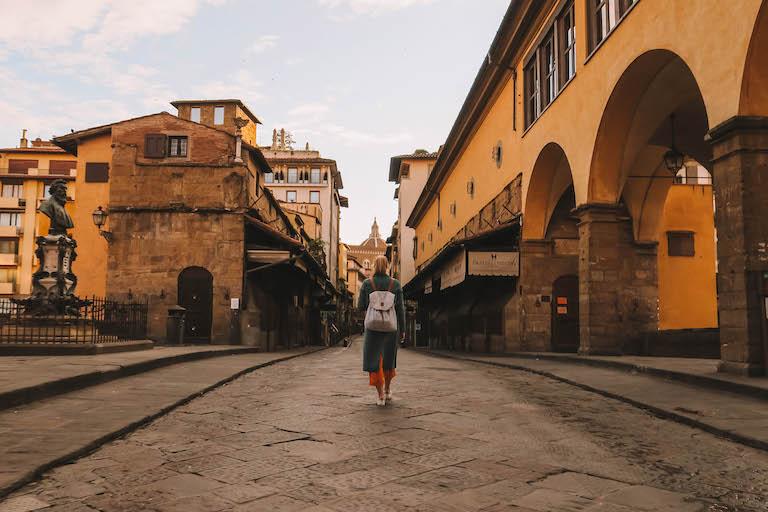Italien Sehenswuerdigkeiten Ponte Vecchio