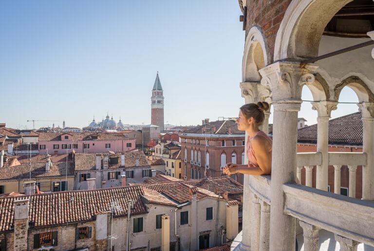 Italien Sehenswuerdigkeiten Venedig