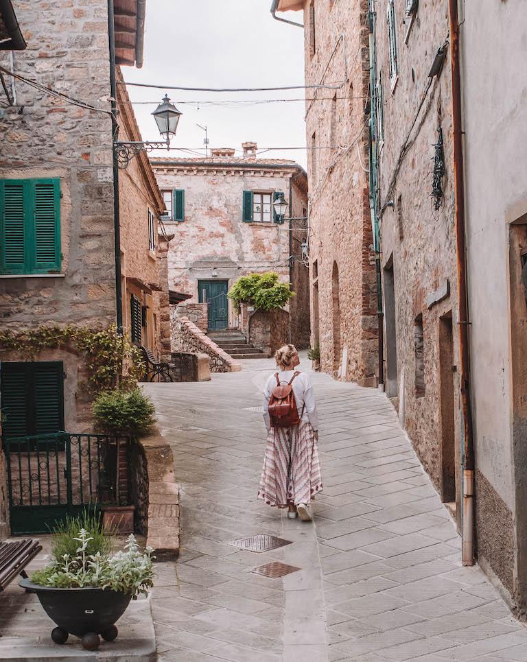 Montecastelli Pisano Italien
