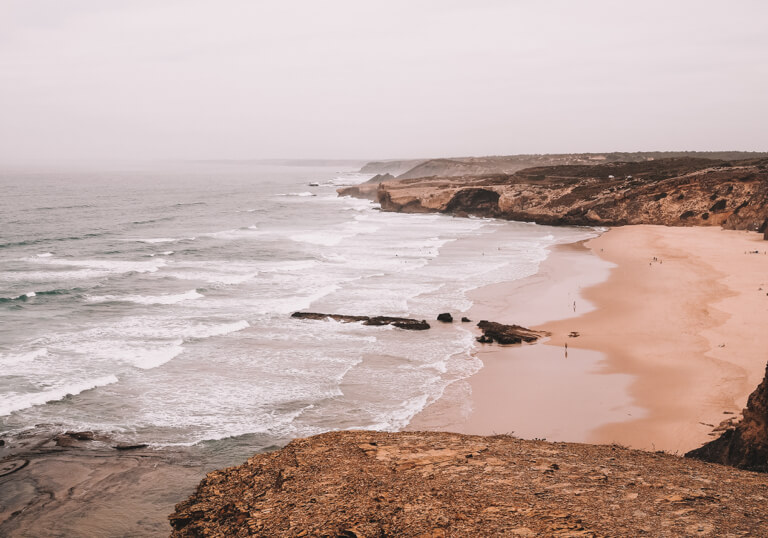 Algarve Straende Monte Clerigo Abend