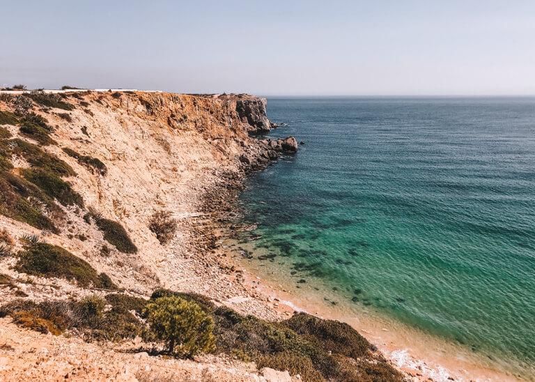 Algarve Straende Praia da Mareta Portugal