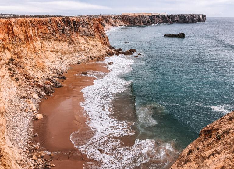 Algarve Straende Praia do Tonel