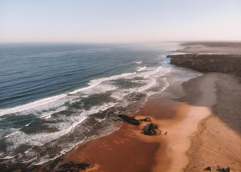 Monte Clerigo Portugal Strand