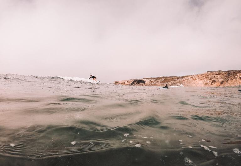 Monte Clerigo Portugal Surfen