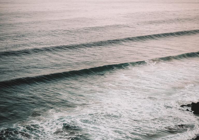 Wellen Surfen Portugal