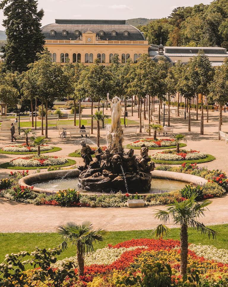 Baden bei Wien Park
