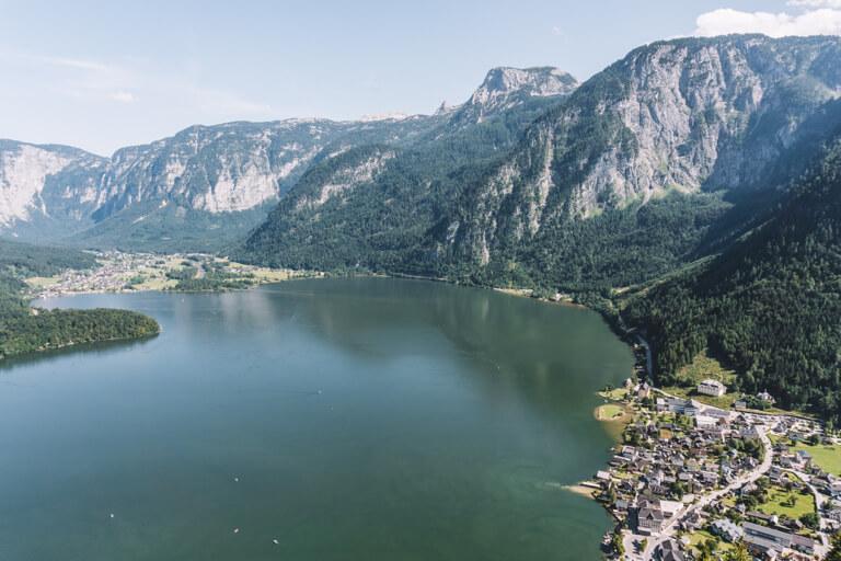 Hallstaetter See Oesterreich