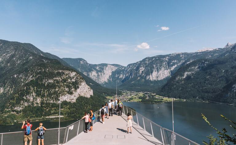 Hallstatt Sehenswuerdigkeiten Skywalk Welterbeblick Unesco