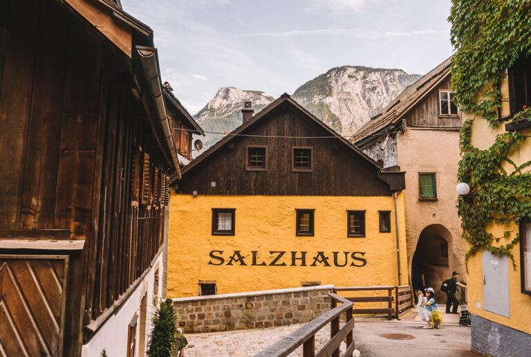 Salzhaus Salzwelten Hallstatt