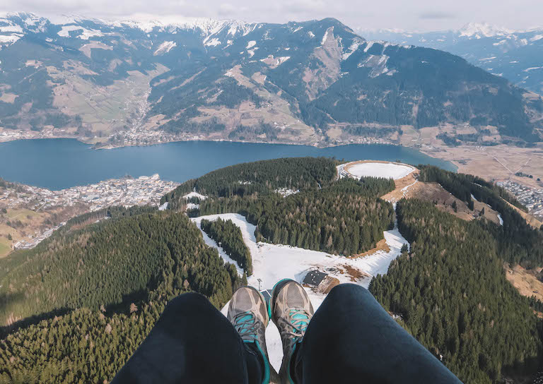 Zell am See Paragliding