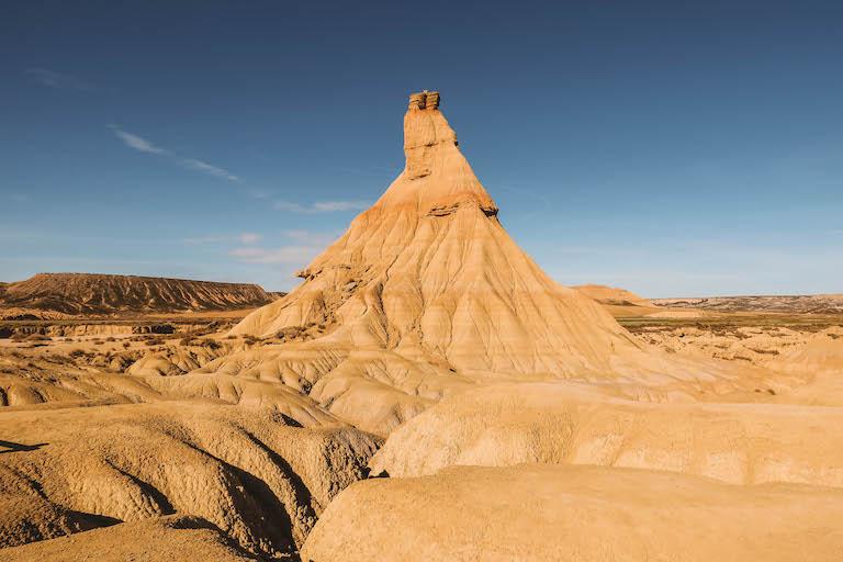 Navarra Bardenas Reales Monolith