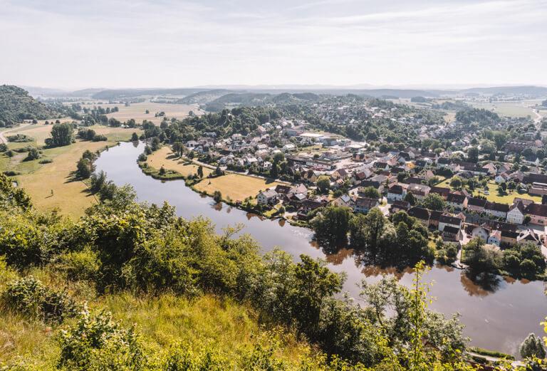 Ausflugsziele-Regensburg-Kallmuenz-Panorama