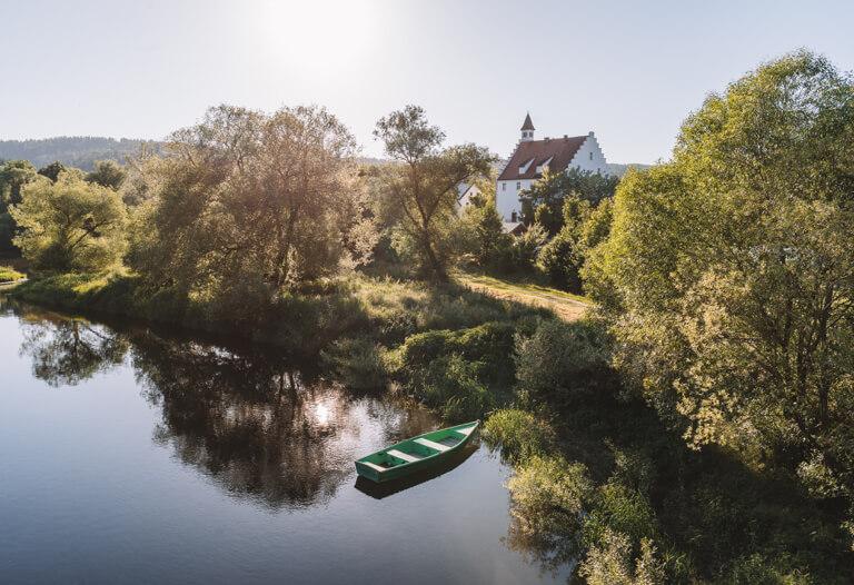 Ausflugsziele-Regensburg-Schloss-Hirschling
