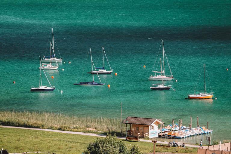 Achensee Boote
