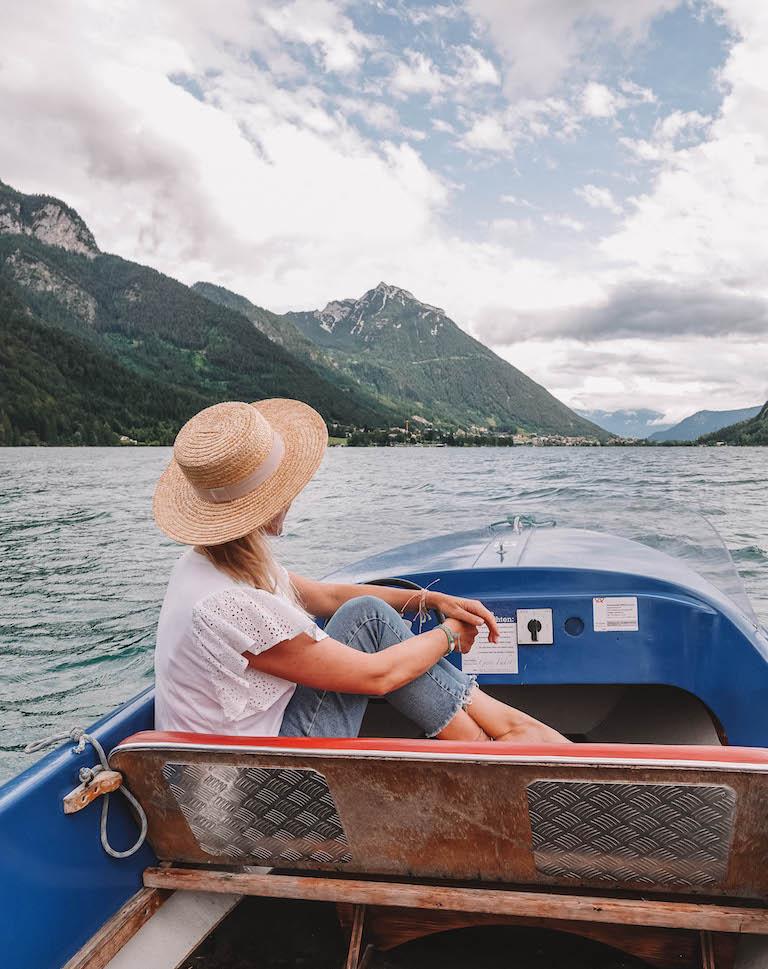 Achensee Oesterreich Boot mieten