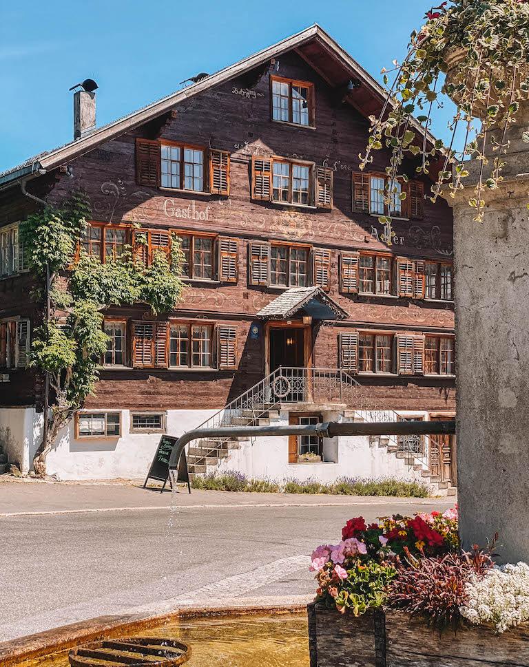 Adler Schwarzenberg Bregenzerwald