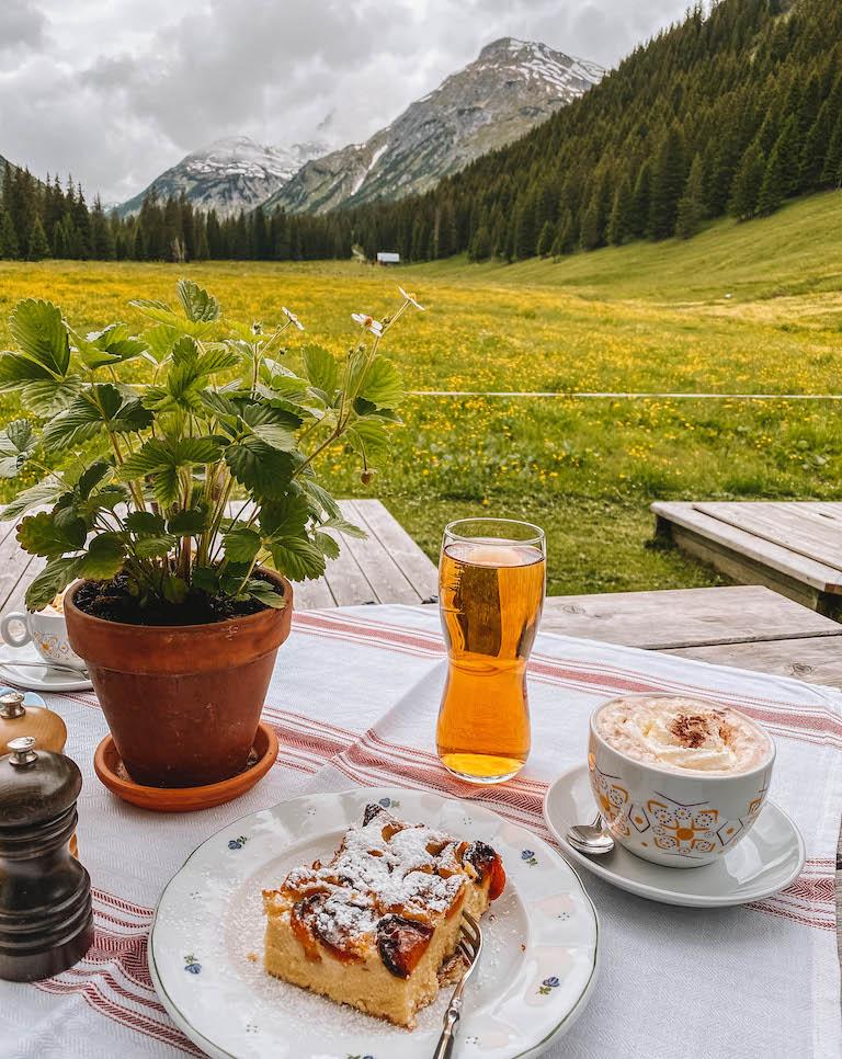 Aelpele Lech am Arlberg Essen