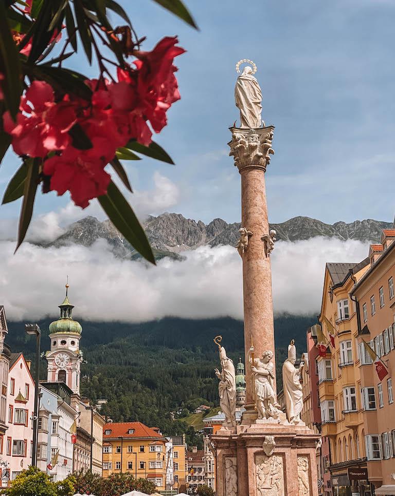 Annasaeule Innsbruck Sehenswuerdigkeiten