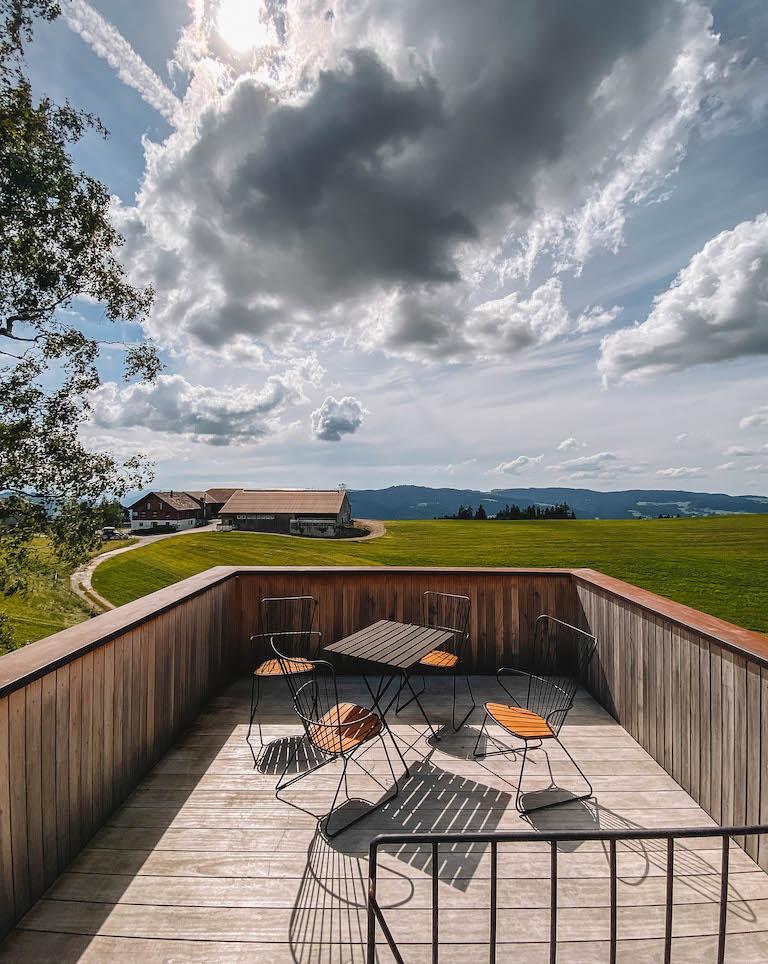 Baumhaus Dachterrasse