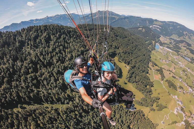 Bregenzerwald Pargliding