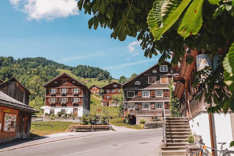 Bregenzerwald Vorarlberg Schwarzenberg