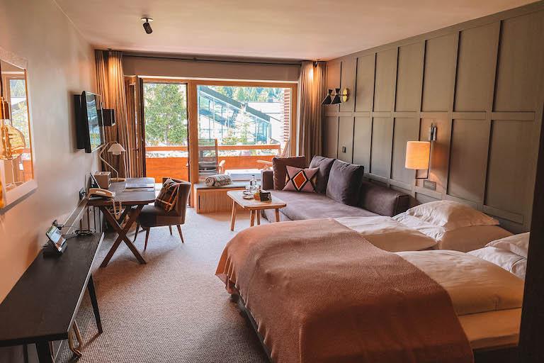 Der Berghof Lech Vorarlberg Zimmer