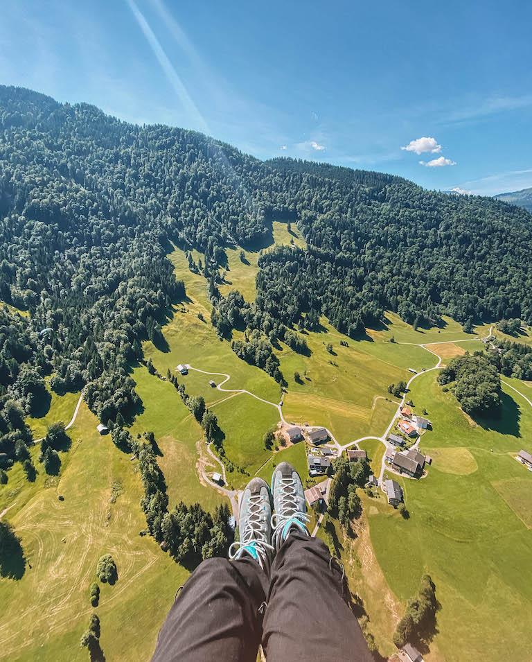 Fallschirmfliegen Oesterreich
