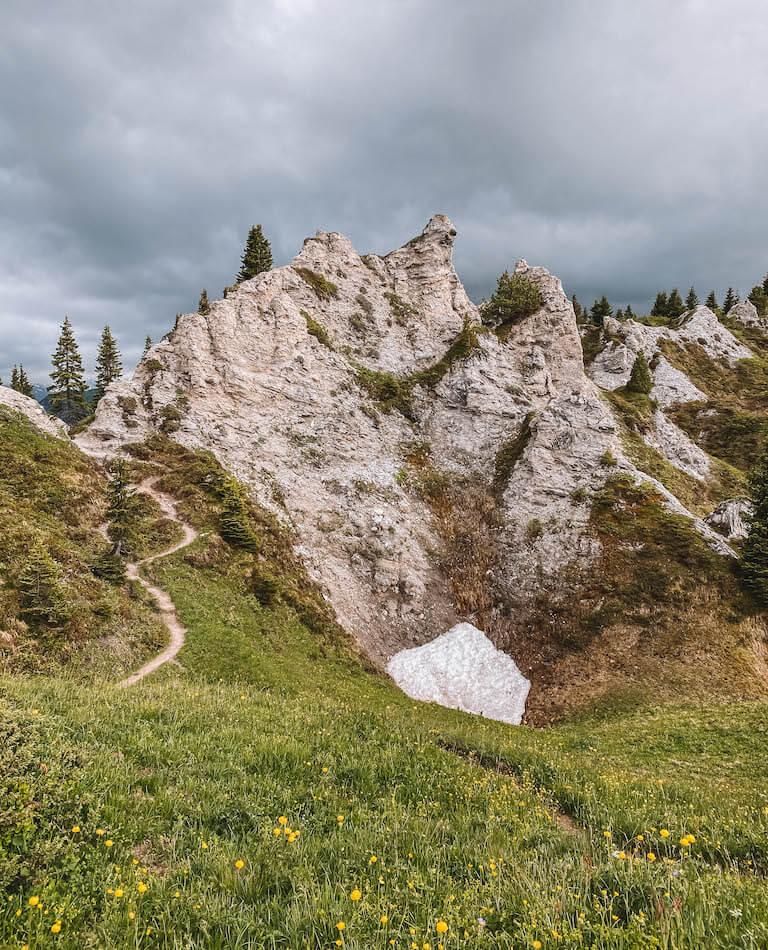 Gipsloecher Lech am Arlberg Reiseblog