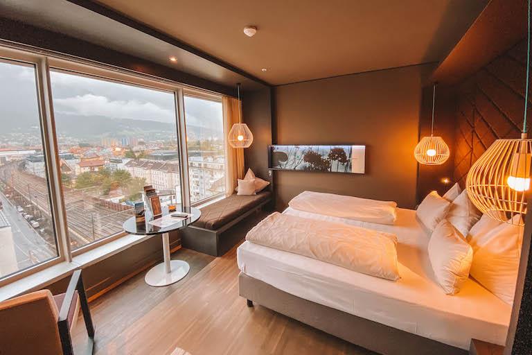 Hotel Adlers Innsbruck Zimmer
