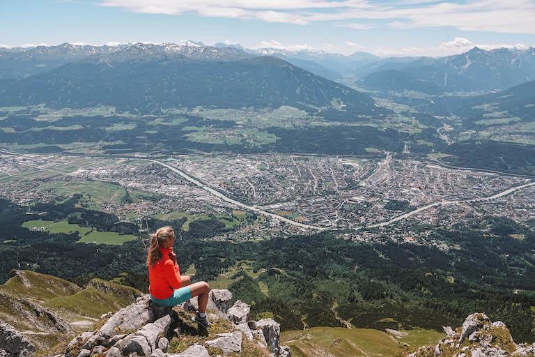 Innsbruck Aussicht Nordkette