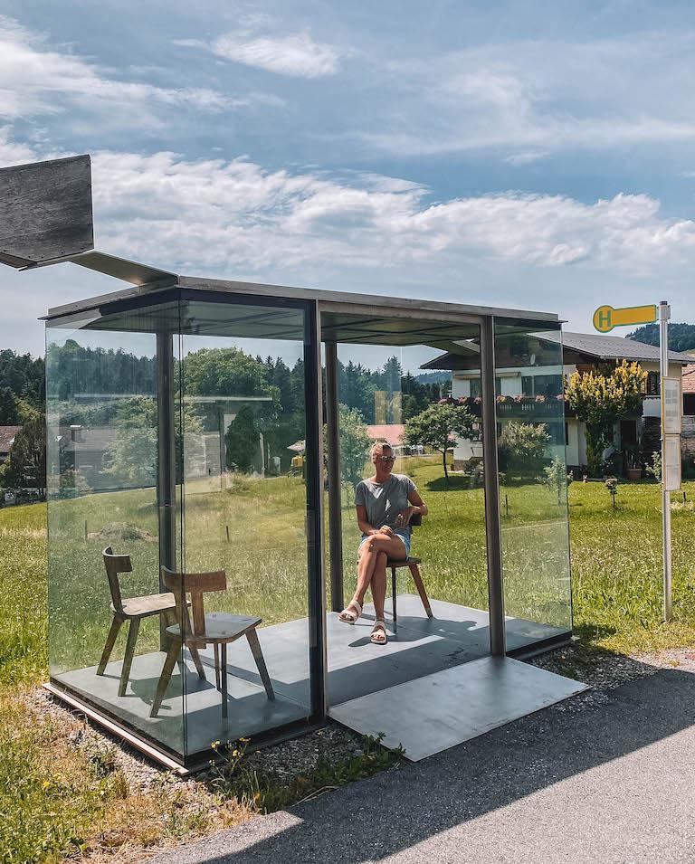 Krumbach Buswartehaus